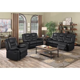 Cortland Reclining Configurable Sofa Set By Marlow Home Co.