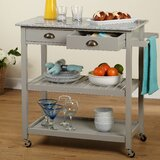 Bronte Rolling Kitchen Cart by Andover Mills™