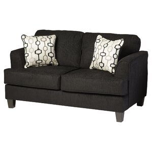 Whitaker Upholstery Davey Loveseat by Three ..