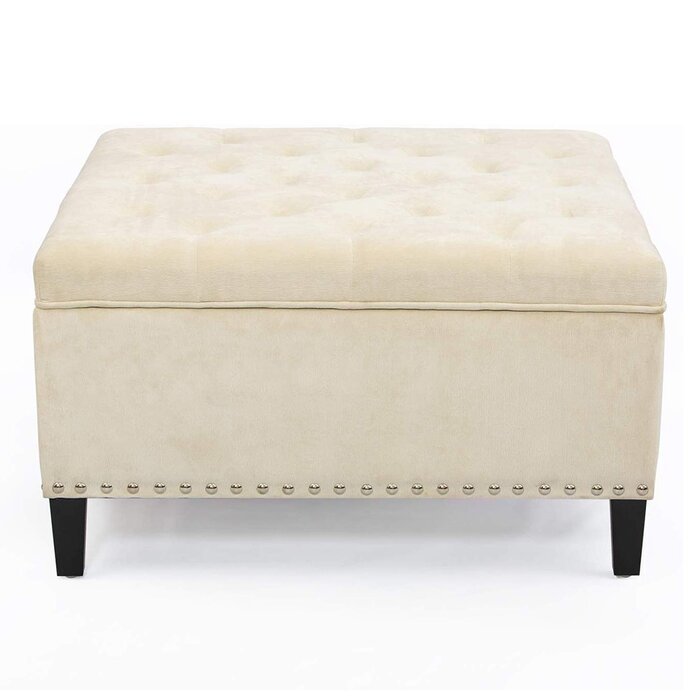 Pictures On Square Fabric Ottoman Onthecornerstone Fun