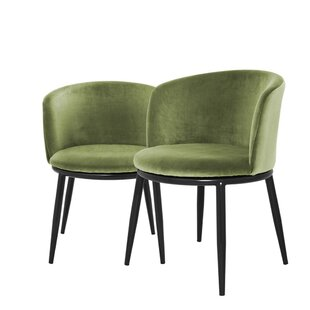Filmore Upholstered Dining Chair (Set of 2) Eichholtz
