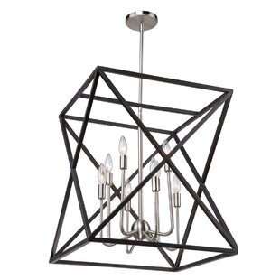 Elements 8-Light Lantern Chandelier by Ar..
