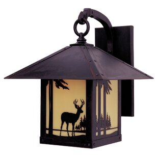 Purchase Timber Ridge 1-Light Outdoor Wall Lantern By Arroyo Craftsman