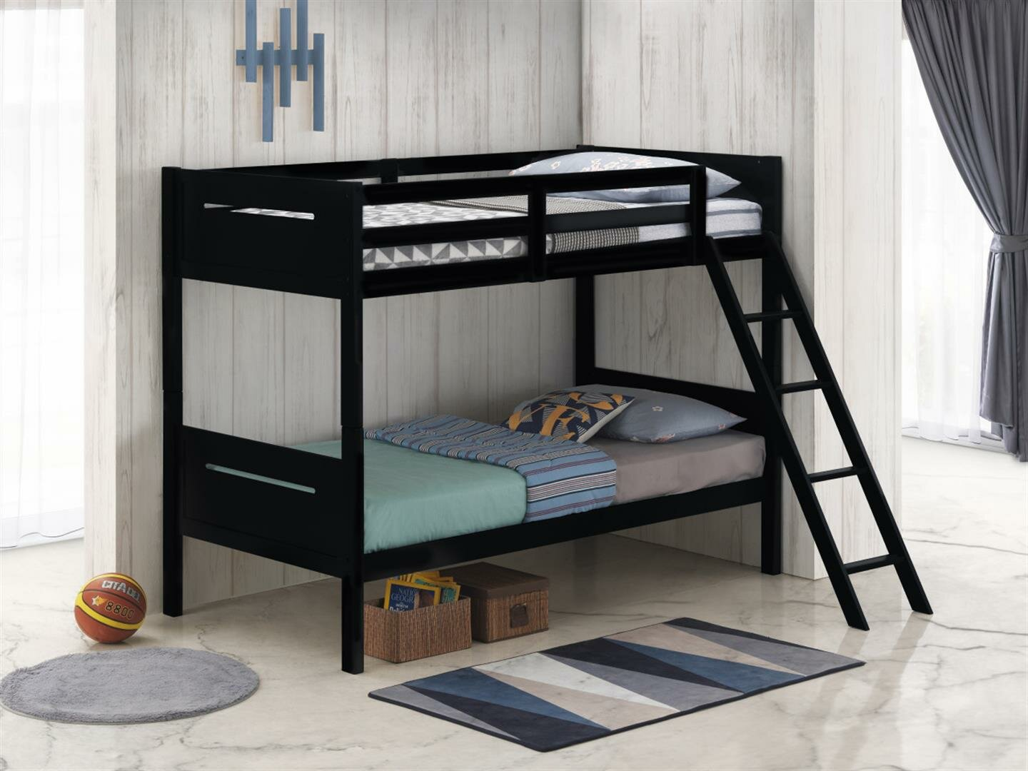 Picture of: Isabelle Max Anderson Taylor Bunk Bed Wayfair