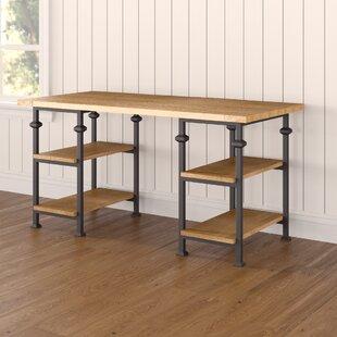 Best Deals Nicholas Writing Desk ByLaurel Foundry Modern Farmhouse
