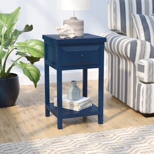 Maquoit End Table With Storage Beachcrest Home
