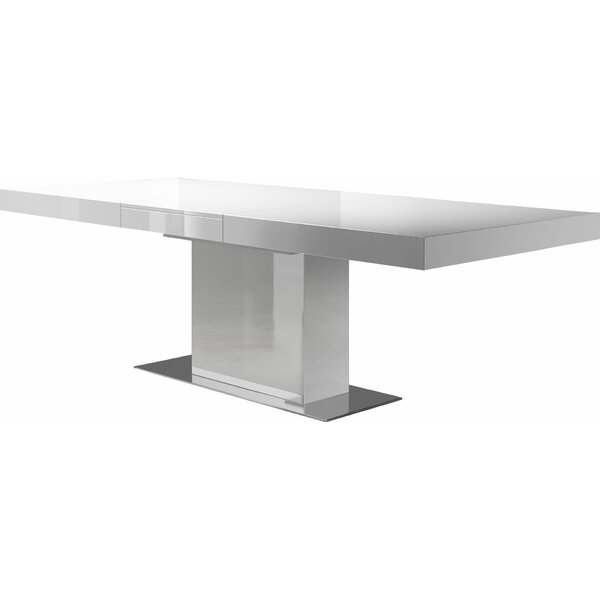 Modloft Astor Extendable Dining Table & Reviews by Modloft