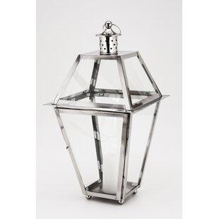 New Port Steel Lantern by Fashion N You by Horizon Interseas