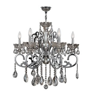 Best Price Koome 6-Light Candle Style Chandelier By Astoria Grand