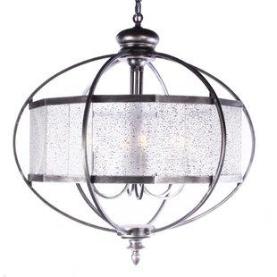 Rosdorf Park Ozbourn 4-Light LED Globe Ch..