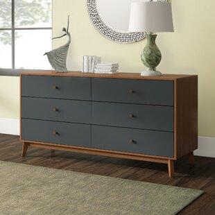 Langley Street Lani 6 Drawer Dresser