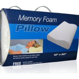 Lumbar Memory Foam Pillow
