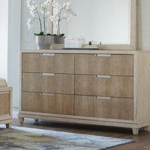 Beachcrest Home Smithson 6 Drawer Double Dresser Image
