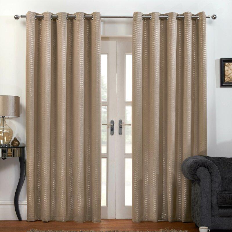 tyrone textiles vorhang set enhanced living carbon zum verdunkeln bewertungen. Black Bedroom Furniture Sets. Home Design Ideas
