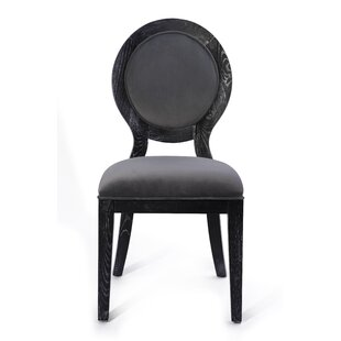 Tipton Cerused Upholstered Dining Chair b..