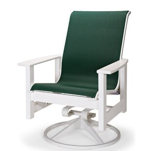 Leeward Swivel Patio Dining Chair by Telescope Casual