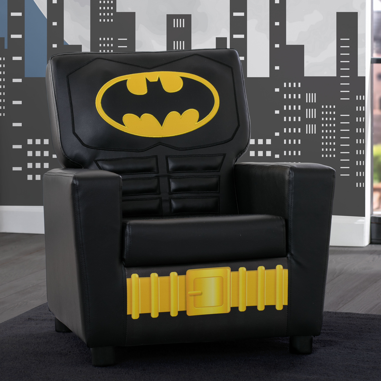Stupendous Batman Dc Comics Kids Faux Leather Chair Download Free Architecture Designs Scobabritishbridgeorg