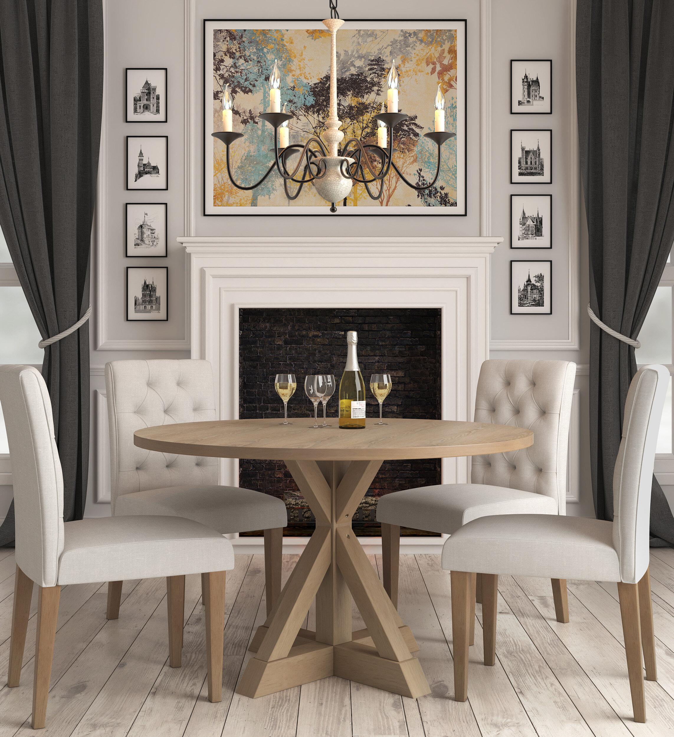 Charlton Home Mordecai Dining Table Wayfair