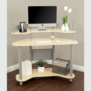 Hunziker Study Computer Desk by Symple Stuff Modern