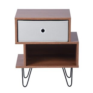 Clairville Bedside Table By 17 Stories