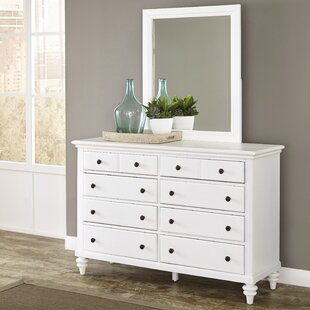 Beachcrest Home Harrison 8 Drawer Dresser wi..