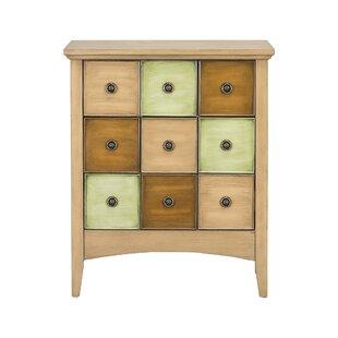 Riccio 9 Drawer Accent Cabinet by Winston Porter