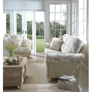 Cynthia 3 Piece Conservatory Sofa Set By Beachcrest Home