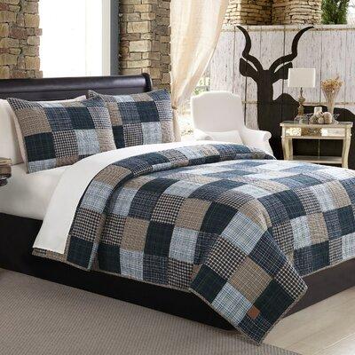 Mountain Home Ridgecrest Quilt Set Size FullQueen