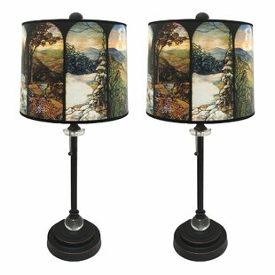 Stobie Crystal 28 Buffet Lamp (Set of 2)
