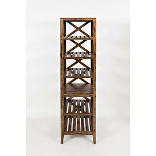 Azriel Cross Etagere Bookcase