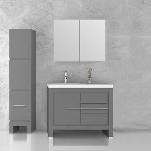 Cinar 39 Single Bathroom Vanity Set by Orren Ellis
