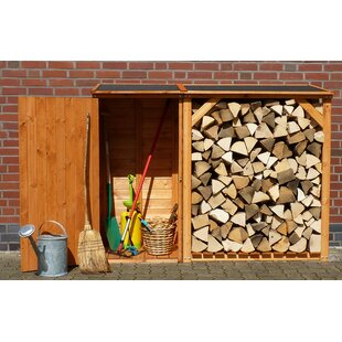 Review Perolla 6.3 Ft. W X 2.2 Ft. D Tongue And Groove Wooden Garden Shed