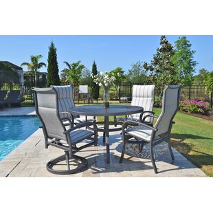 Outdoor Masterpiece Terrabay 5 Piece Dini..