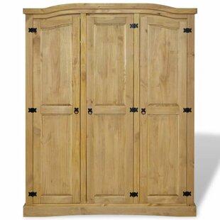 Augustin 3 Door Wardrobe By Bloomsbury Market
