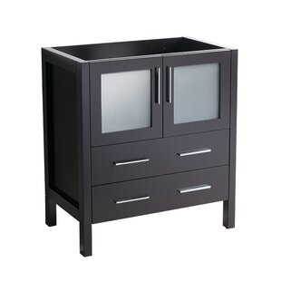 Compare prices Torino 30 Single Bathroom Vanity Base Only By Fresca