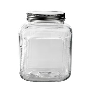 3 qt. Storage Jar with Lid (Set of 4)