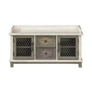 Gracie Oaks Burritt 2 Door 2 Drawer Accent Cabinet