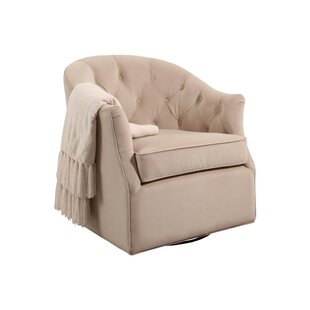 Alcott Hill Guthridge Swivel Club Chair