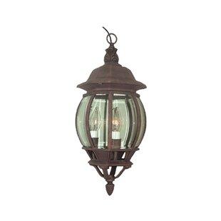 Shop For Basic 3-Light Outdoor Hanging Lantern By Woodbridge Lighting