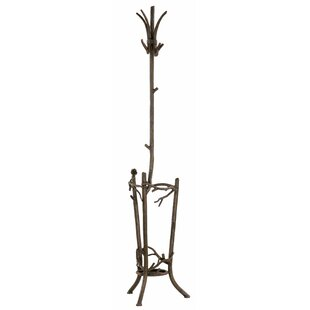 Trawick Coat Rack with Umbrella Stand by Millwood Pines