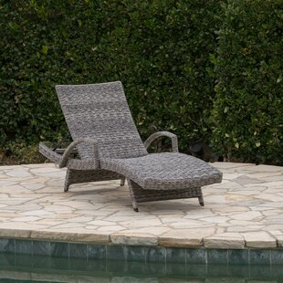 Highland Dunes Hershman Armed Chaise Lounge