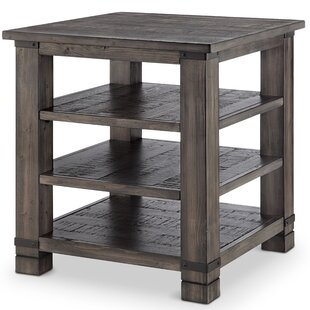 Great Price Vilma Wood End Table by Birch Lane™ Heritage