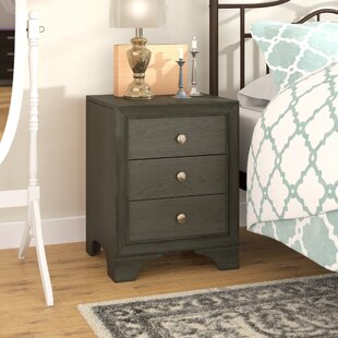 Bowdoin 3 Drawer Nightstand by Alcott Hill