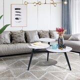Emmetta 3 Legs Coffee Table by Latitude Run®