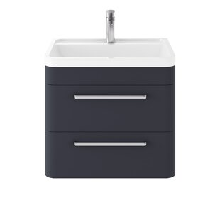 Solar 600mm Wall Mount Vanity Unit By Hudson Reed