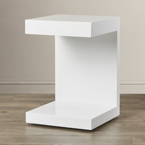 Ikon End Table by Sunpan Modern