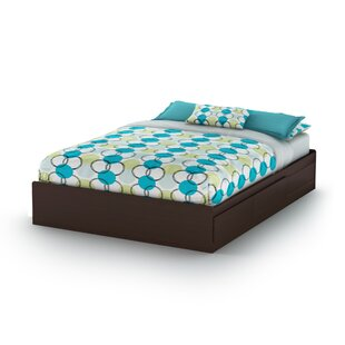 Vito Queen Platform Bed by South Shore