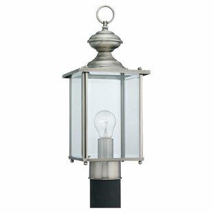 Great Price Hobscheid Outdoor Post Lantern By Bloomsbury Market