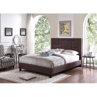 Red Hook Queen Upholstered Panel Bed by Mercer41 New