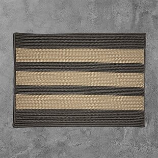 Seal Harbor Hand-Woven Gray Indoor/Outdoor Area Rug
